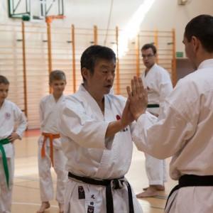 Relacja staż techniczny Sensei Yoshinobu Ohta 7 DAN