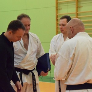 Seminarium z Sensei Lars Lassen 5 Dan KWF