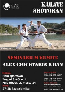 Shotokan seminarium plakat_50