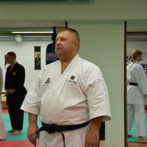 Staż z Kyoshi Hubert Laenen w Wilnie