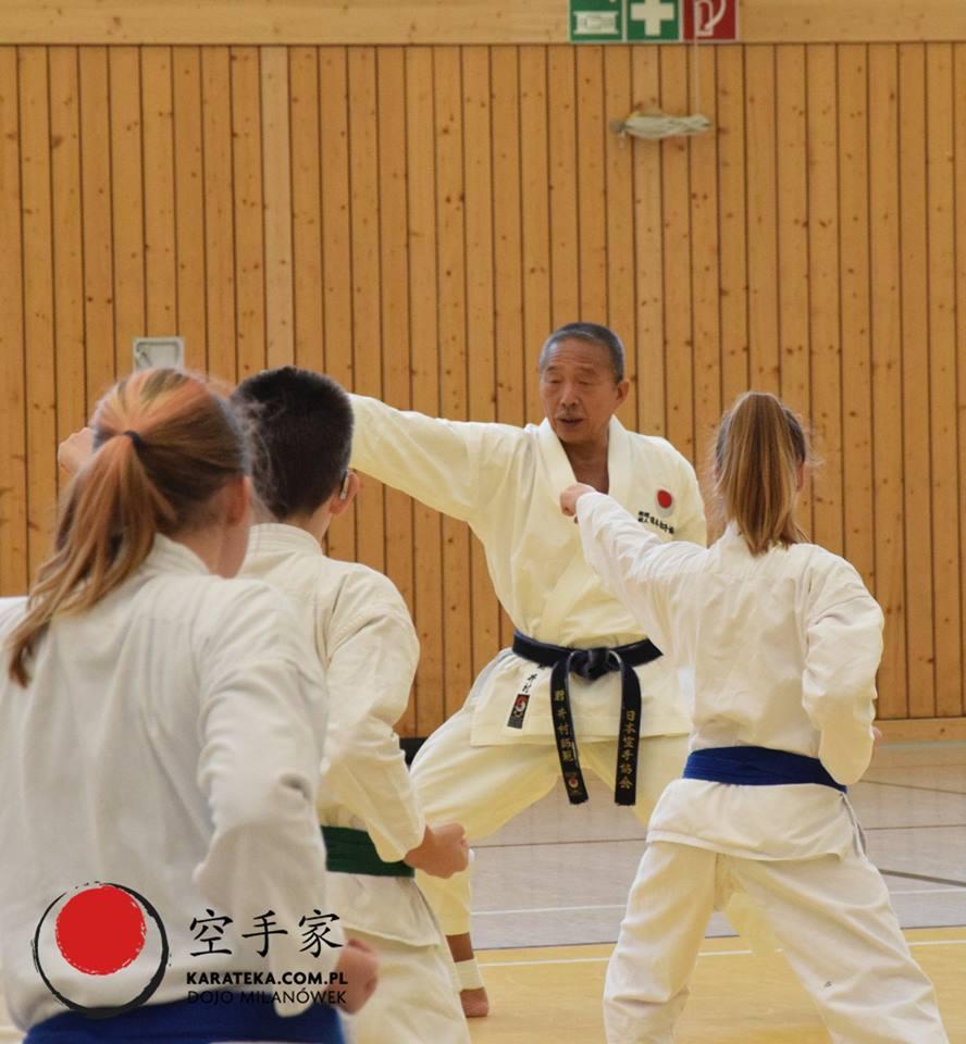 Staż techniczny z Sensei Takenori Imura 8. Dan JKA